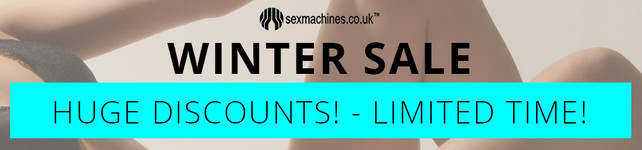 SexMachines.co.uk Winter Sale