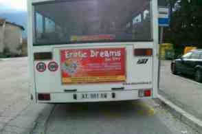 erotic dreams advert