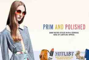 top shop prim and polished advert