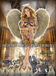 Always adopt,never buy advert