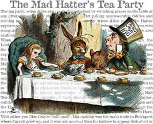 alice mad hatter