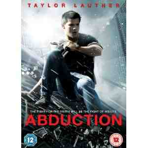 Abduction DVD Taylor Lautner