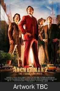 Anchorman 2 Legend Continues DVD