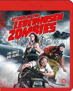 Attack Lederhosen Zombies Blu ray DVD