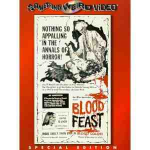 Blood Feast DVD US NTSC