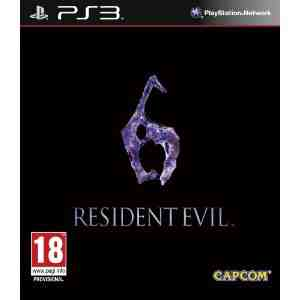 Capcom Resident Evil 6 PS3
