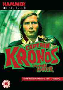 Captain Kronos Vampire Hunter DVD