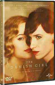 Danish Girl DVD Eddie Redmayne