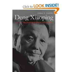 Deng Xiaoping Transformation China Vogel