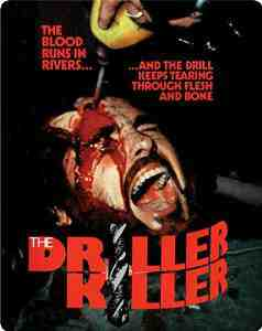 Driller Killer Limited Steelbook Blu ray