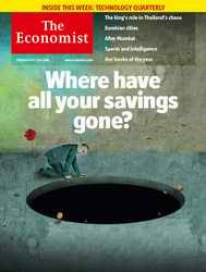 The Economist magazine cover
