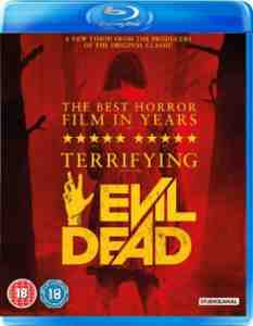 Evil Dead Blu ray Jane Levy