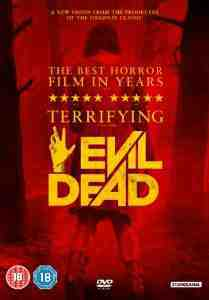 Evil Dead DVD Jane Levy