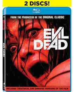 Evil Dead: Unrated Blu-ray