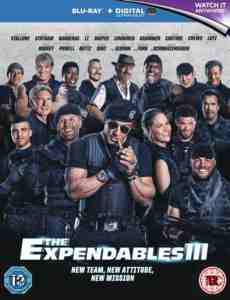 Expendables 3 Blu ray Sylvester Stallone