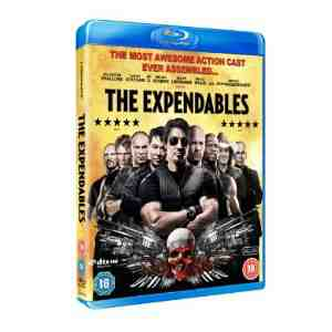 Expendables Blu ray Sylvester Stallone