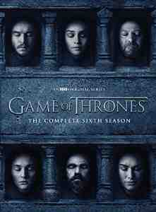 Game Thrones Season 6 DVD