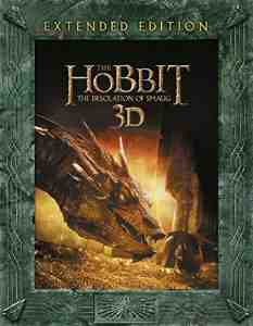 Hobbit Desolation Extended Blu ray Region