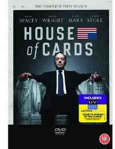 House Cards Season 1 DVD