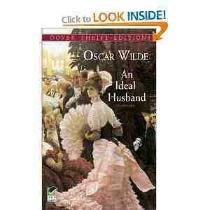 Ideal Husband Dover Thrift Editions