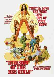 Invasion Of The Bee Girls DVD