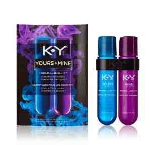 K Y Yours Couples Lubricant Bottles