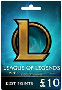 League of Legends £10 Prepaid Gift Card