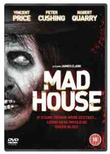 Madhouse DVD Vincent Price