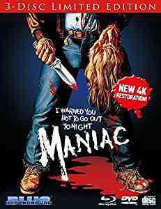 Maniac 1980 Blu-ray