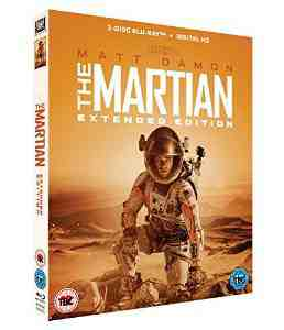 Martian Extended Blu ray Matt Damon