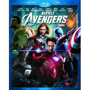 Marvels Avengers Two Disc Blu ray Packaging