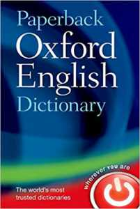Paperback Oxford English Dictionary by  Paperback