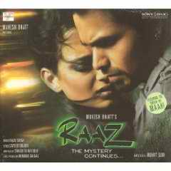 Raaz soundtrack CD