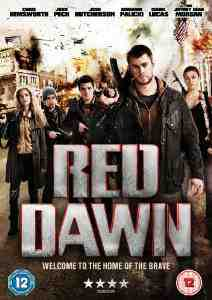 Red Dawn DVD Chris Hemsworth