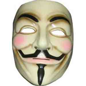 Rubies Costume Co Vendetta Mask