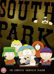 South Park: The Complete Twentieth Season DVD