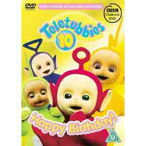 Teletubbies Happy Birthday DVD