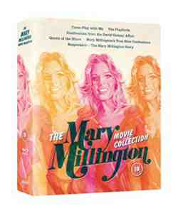 The Mary Millington Movie Collection Blu-ray