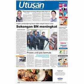 Utusan newspaper