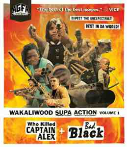 Wakaliwood Supa Action Volume 1: Who Killed Captain Alex? + Bad Black DVD