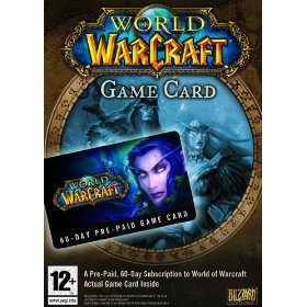 World of Warcraft pre paid card