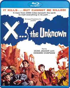 X the Unknown Blu-ray