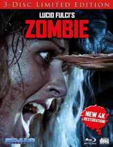 Zombie Cover B ''Splinter'' Blu-ray