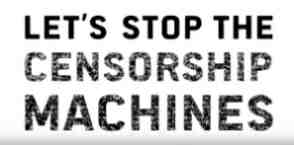 stop censorship machines