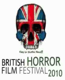 british horror film festival 2010 logo