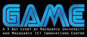 game macquarie university logo