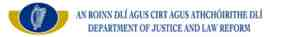 ireland dept of justice logo