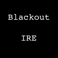 Blackout Ireland logo