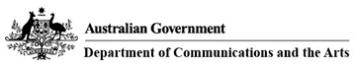australia government communications logo