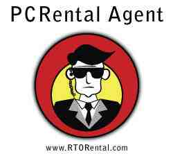 pc rental agent logo